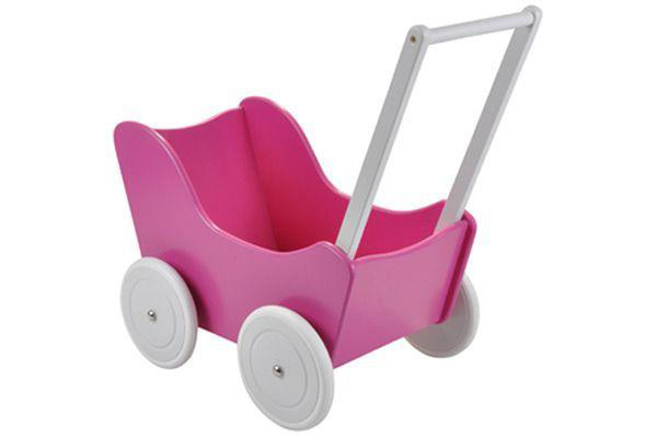 Houten poppenwagen Little Angel limited.